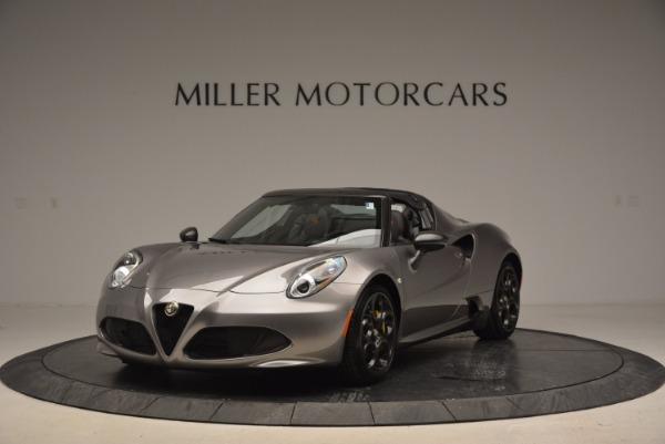 New 2016 Alfa Romeo 4C Spider for sale Sold at Alfa Romeo of Greenwich in Greenwich CT 06830 1