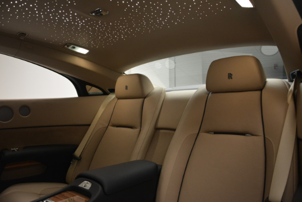 Used 2015 Rolls-Royce Wraith for sale Sold at Alfa Romeo of Greenwich in Greenwich CT 06830 22