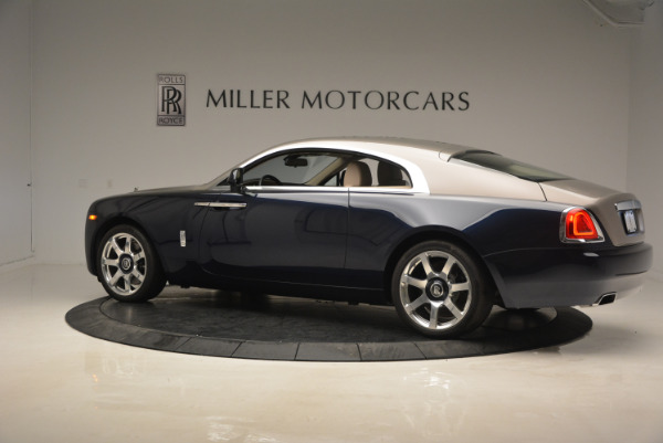 Used 2015 Rolls-Royce Wraith for sale Sold at Alfa Romeo of Greenwich in Greenwich CT 06830 4