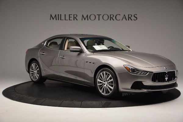 New 2017 Maserati Ghibli S Q4 EX-Loaner for sale Sold at Alfa Romeo of Greenwich in Greenwich CT 06830 10