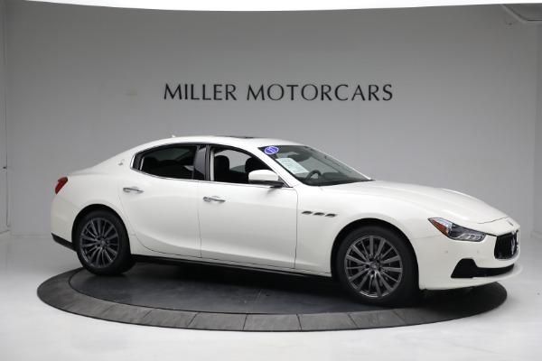 New 2017 Maserati Ghibli S Q4 EX-Loaner for sale Sold at Alfa Romeo of Greenwich in Greenwich CT 06830 10