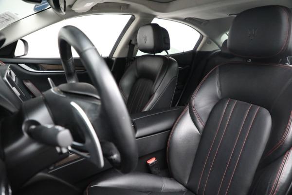 New 2017 Maserati Ghibli S Q4 EX-Loaner for sale Sold at Alfa Romeo of Greenwich in Greenwich CT 06830 15
