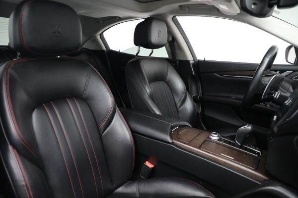 New 2017 Maserati Ghibli S Q4 EX-Loaner for sale Sold at Alfa Romeo of Greenwich in Greenwich CT 06830 23