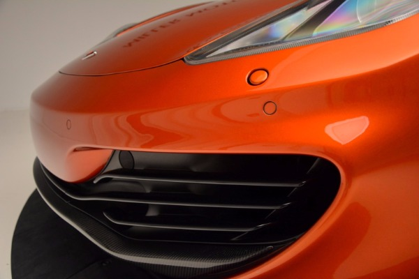 Used 2012 McLaren MP4-12C for sale Sold at Alfa Romeo of Greenwich in Greenwich CT 06830 16