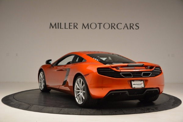 Used 2012 McLaren MP4-12C for sale Sold at Alfa Romeo of Greenwich in Greenwich CT 06830 5