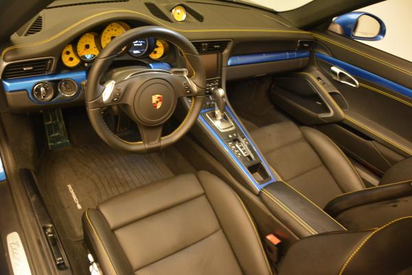 Used 2014 Porsche 911 Turbo S for sale Sold at Alfa Romeo of Greenwich in Greenwich CT 06830 18