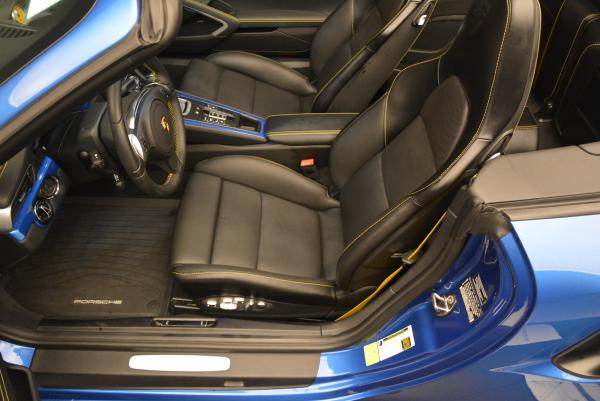 Used 2014 Porsche 911 Turbo S for sale Sold at Alfa Romeo of Greenwich in Greenwich CT 06830 20