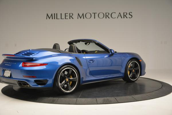 Used 2014 Porsche 911 Turbo S for sale Sold at Alfa Romeo of Greenwich in Greenwich CT 06830 8