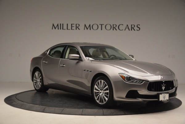 Used 2015 Maserati Ghibli S Q4 for sale Sold at Alfa Romeo of Greenwich in Greenwich CT 06830 11
