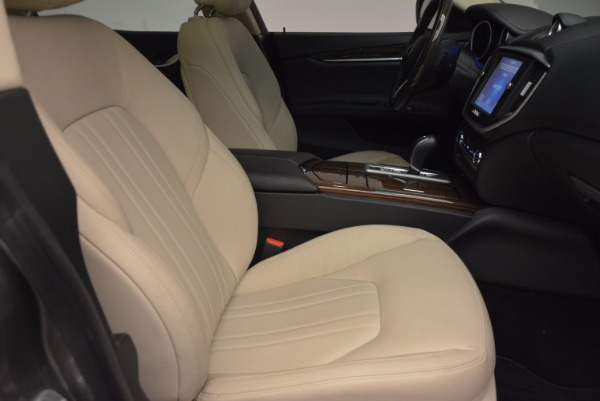 Used 2015 Maserati Ghibli S Q4 for sale Sold at Alfa Romeo of Greenwich in Greenwich CT 06830 20