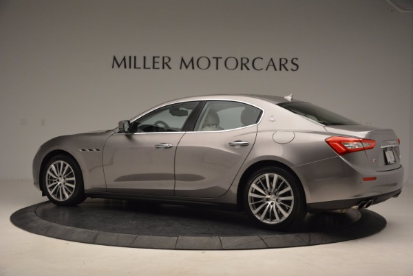 Used 2015 Maserati Ghibli S Q4 for sale Sold at Alfa Romeo of Greenwich in Greenwich CT 06830 4
