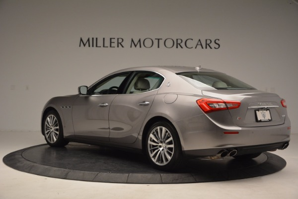 Used 2015 Maserati Ghibli S Q4 for sale Sold at Alfa Romeo of Greenwich in Greenwich CT 06830 5