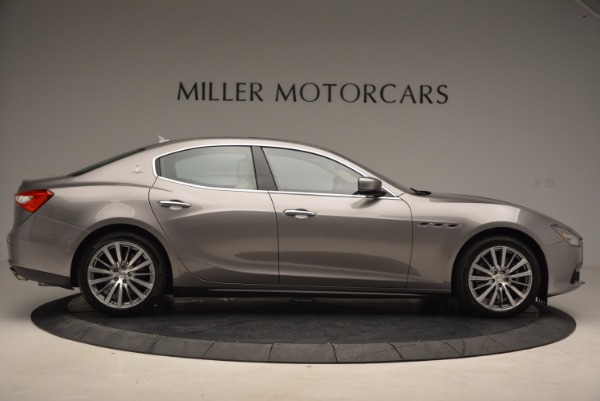 Used 2015 Maserati Ghibli S Q4 for sale Sold at Alfa Romeo of Greenwich in Greenwich CT 06830 9