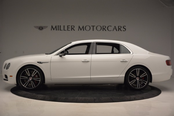 New 2017 Bentley Flying Spur V8 S for sale Sold at Alfa Romeo of Greenwich in Greenwich CT 06830 3