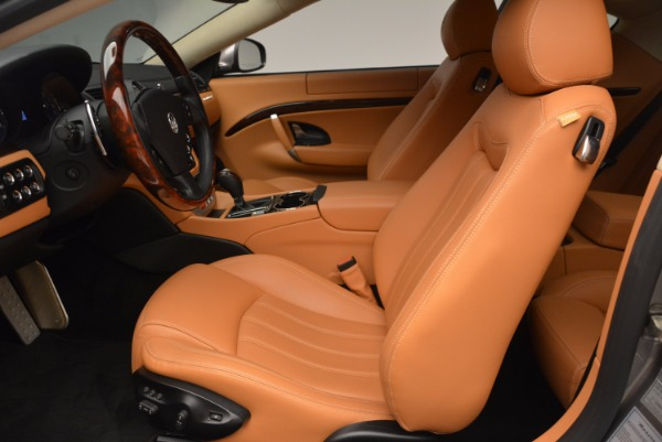 Used 2009 Maserati GranTurismo S for sale Sold at Alfa Romeo of Greenwich in Greenwich CT 06830 14