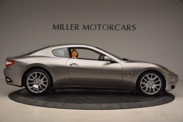 Used 2009 Maserati GranTurismo S for sale Sold at Alfa Romeo of Greenwich in Greenwich CT 06830 9