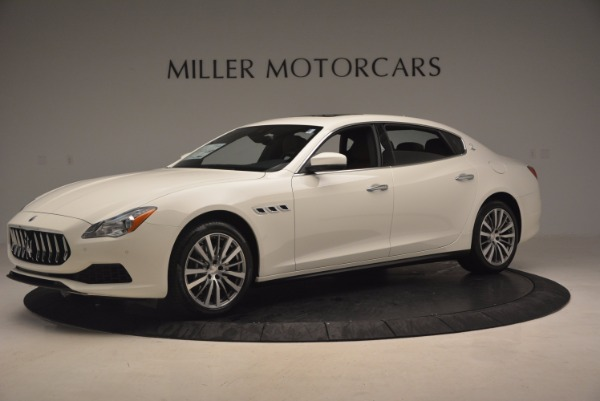 Used 2017 Maserati Quattroporte SQ4 for sale Sold at Alfa Romeo of Greenwich in Greenwich CT 06830 2