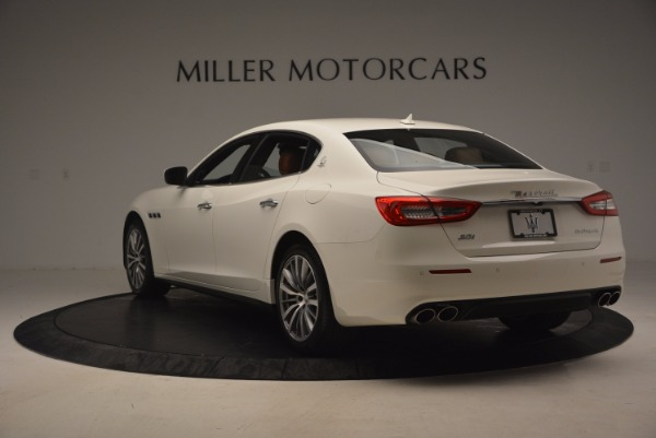 Used 2017 Maserati Quattroporte SQ4 for sale Sold at Alfa Romeo of Greenwich in Greenwich CT 06830 5