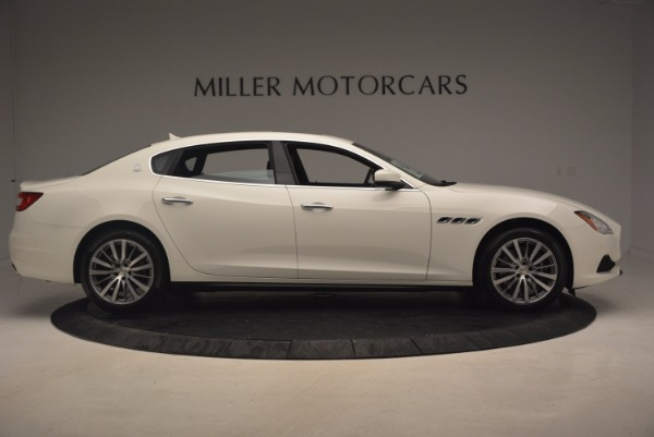 Used 2017 Maserati Quattroporte SQ4 for sale Sold at Alfa Romeo of Greenwich in Greenwich CT 06830 9