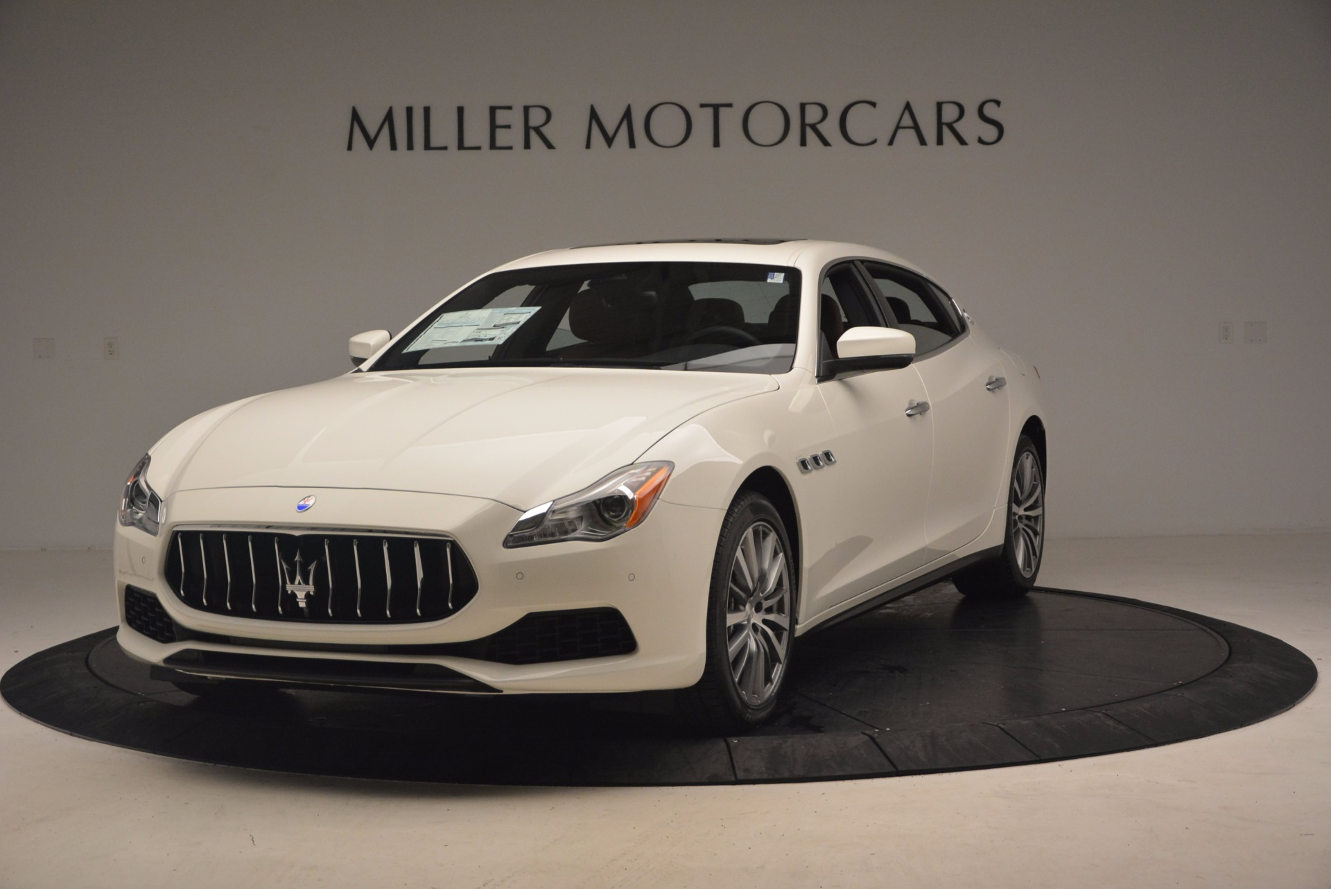 Used 2017 Maserati Quattroporte SQ4 for sale Sold at Alfa Romeo of Greenwich in Greenwich CT 06830 1