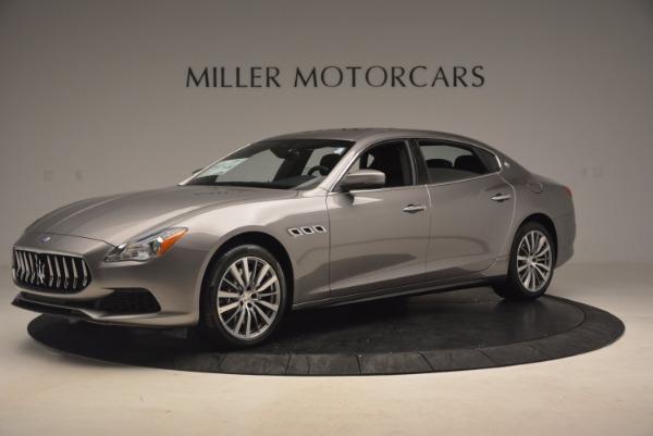 New 2017 Maserati Quattroporte SQ4 for sale Sold at Alfa Romeo of Greenwich in Greenwich CT 06830 2