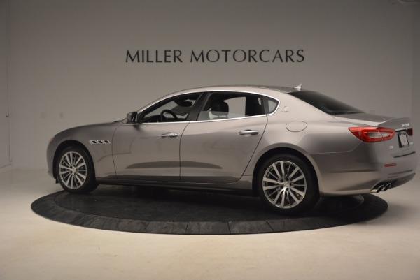 New 2017 Maserati Quattroporte SQ4 for sale Sold at Alfa Romeo of Greenwich in Greenwich CT 06830 4