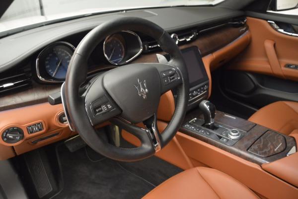 New 2017 Maserati Quattroporte S Q4 for sale Sold at Alfa Romeo of Greenwich in Greenwich CT 06830 14