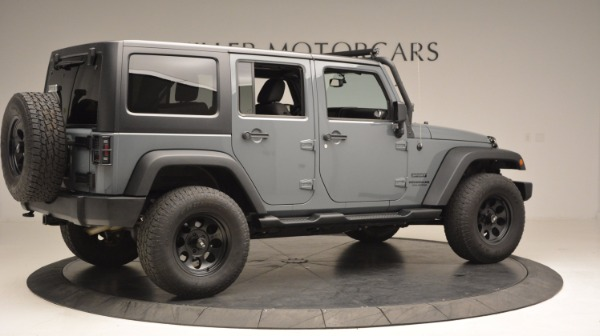Used 2014 Jeep Wrangler Unlimited Sport for sale Sold at Alfa Romeo of Greenwich in Greenwich CT 06830 10