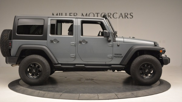 Used 2014 Jeep Wrangler Unlimited Sport for sale Sold at Alfa Romeo of Greenwich in Greenwich CT 06830 11