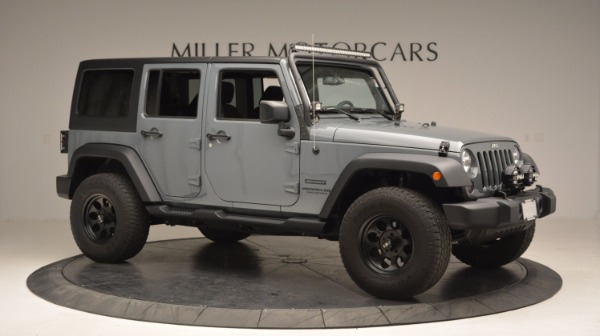 Used 2014 Jeep Wrangler Unlimited Sport for sale Sold at Alfa Romeo of Greenwich in Greenwich CT 06830 12