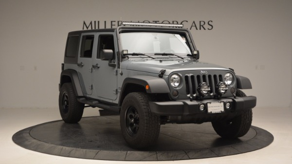 Used 2014 Jeep Wrangler Unlimited Sport for sale Sold at Alfa Romeo of Greenwich in Greenwich CT 06830 13