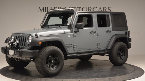 Used 2014 Jeep Wrangler Unlimited Sport for sale Sold at Alfa Romeo of Greenwich in Greenwich CT 06830 2