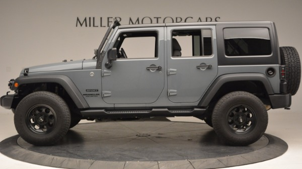 Used 2014 Jeep Wrangler Unlimited Sport for sale Sold at Alfa Romeo of Greenwich in Greenwich CT 06830 3