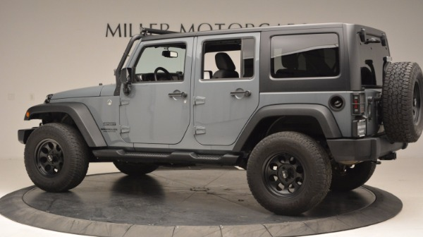 Used 2014 Jeep Wrangler Unlimited Sport for sale Sold at Alfa Romeo of Greenwich in Greenwich CT 06830 4