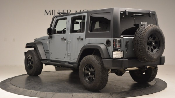 Used 2014 Jeep Wrangler Unlimited Sport for sale Sold at Alfa Romeo of Greenwich in Greenwich CT 06830 5