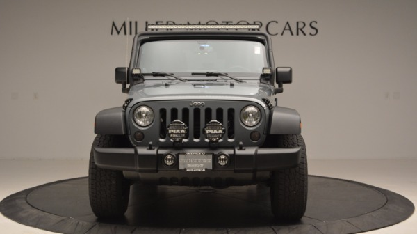 Used 2014 Jeep Wrangler Unlimited Sport for sale Sold at Alfa Romeo of Greenwich in Greenwich CT 06830 6