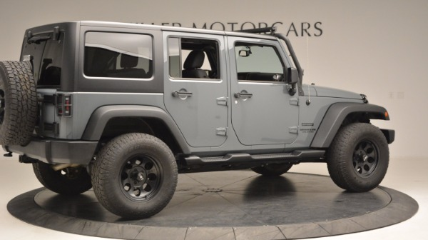Used 2014 Jeep Wrangler Unlimited Sport for sale Sold at Alfa Romeo of Greenwich in Greenwich CT 06830 9