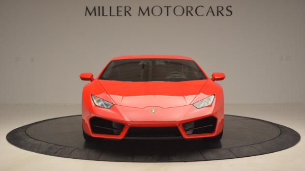 Used 2016 Lamborghini Huracan LP 580-2 for sale Sold at Alfa Romeo of Greenwich in Greenwich CT 06830 12