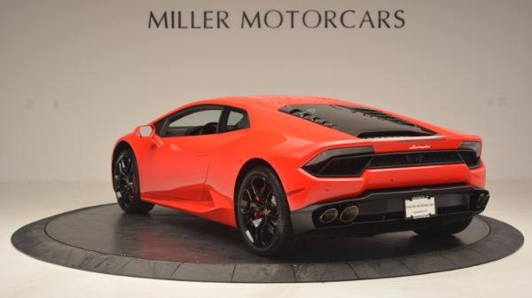 Used 2016 Lamborghini Huracan LP 580-2 for sale Sold at Alfa Romeo of Greenwich in Greenwich CT 06830 5