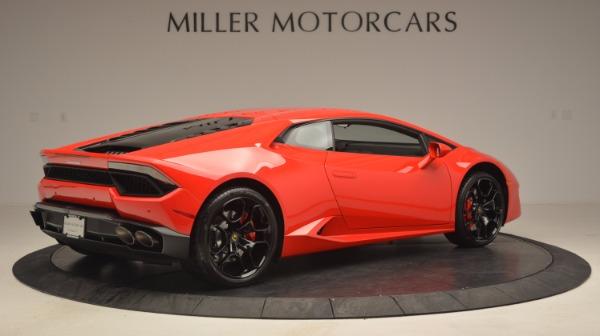 Used 2016 Lamborghini Huracan LP 580-2 for sale Sold at Alfa Romeo of Greenwich in Greenwich CT 06830 8