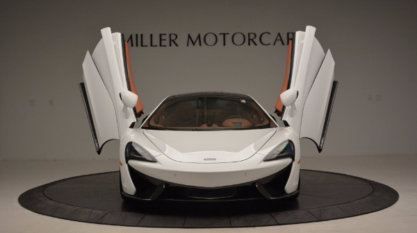 Used 2017 McLaren 570GT for sale Sold at Alfa Romeo of Greenwich in Greenwich CT 06830 13