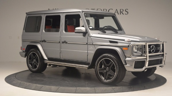 Used 2016 Mercedes Benz G-Class G 63 AMG for sale Sold at Alfa Romeo of Greenwich in Greenwich CT 06830 10