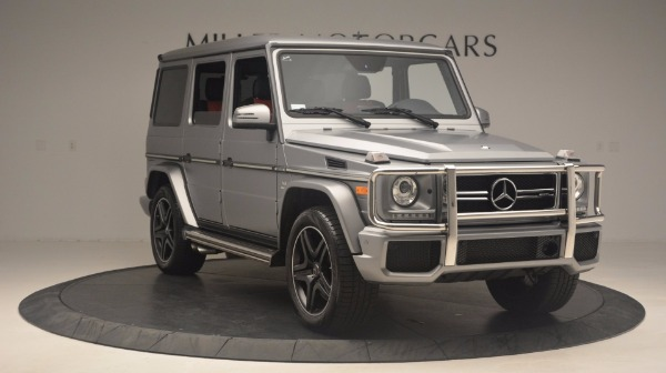 Used 2016 Mercedes Benz G-Class G 63 AMG for sale Sold at Alfa Romeo of Greenwich in Greenwich CT 06830 11