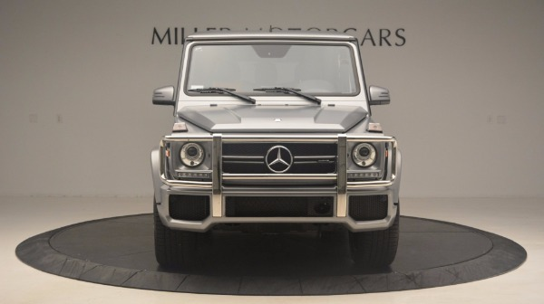 Used 2016 Mercedes Benz G-Class G 63 AMG for sale Sold at Alfa Romeo of Greenwich in Greenwich CT 06830 12