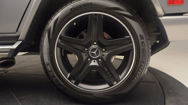 Used 2016 Mercedes Benz G-Class G 63 AMG for sale Sold at Alfa Romeo of Greenwich in Greenwich CT 06830 13