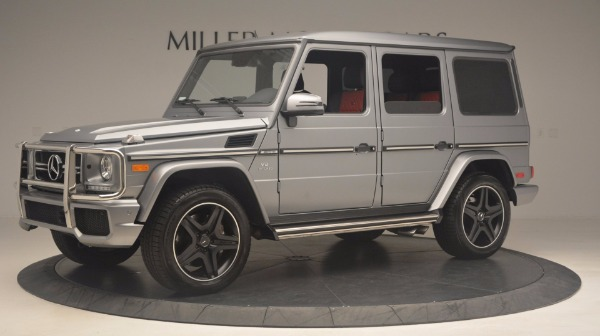 Used 2016 Mercedes Benz G-Class G 63 AMG for sale Sold at Alfa Romeo of Greenwich in Greenwich CT 06830 2
