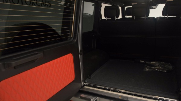 Used 2016 Mercedes Benz G-Class G 63 AMG for sale Sold at Alfa Romeo of Greenwich in Greenwich CT 06830 21