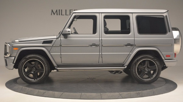 Used 2016 Mercedes Benz G-Class G 63 AMG for sale Sold at Alfa Romeo of Greenwich in Greenwich CT 06830 3