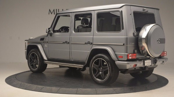 Used 2016 Mercedes Benz G-Class G 63 AMG for sale Sold at Alfa Romeo of Greenwich in Greenwich CT 06830 4