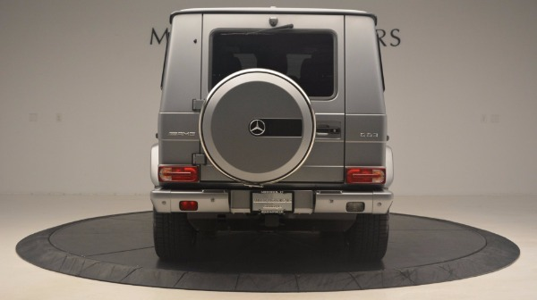 Used 2016 Mercedes Benz G-Class G 63 AMG for sale Sold at Alfa Romeo of Greenwich in Greenwich CT 06830 6